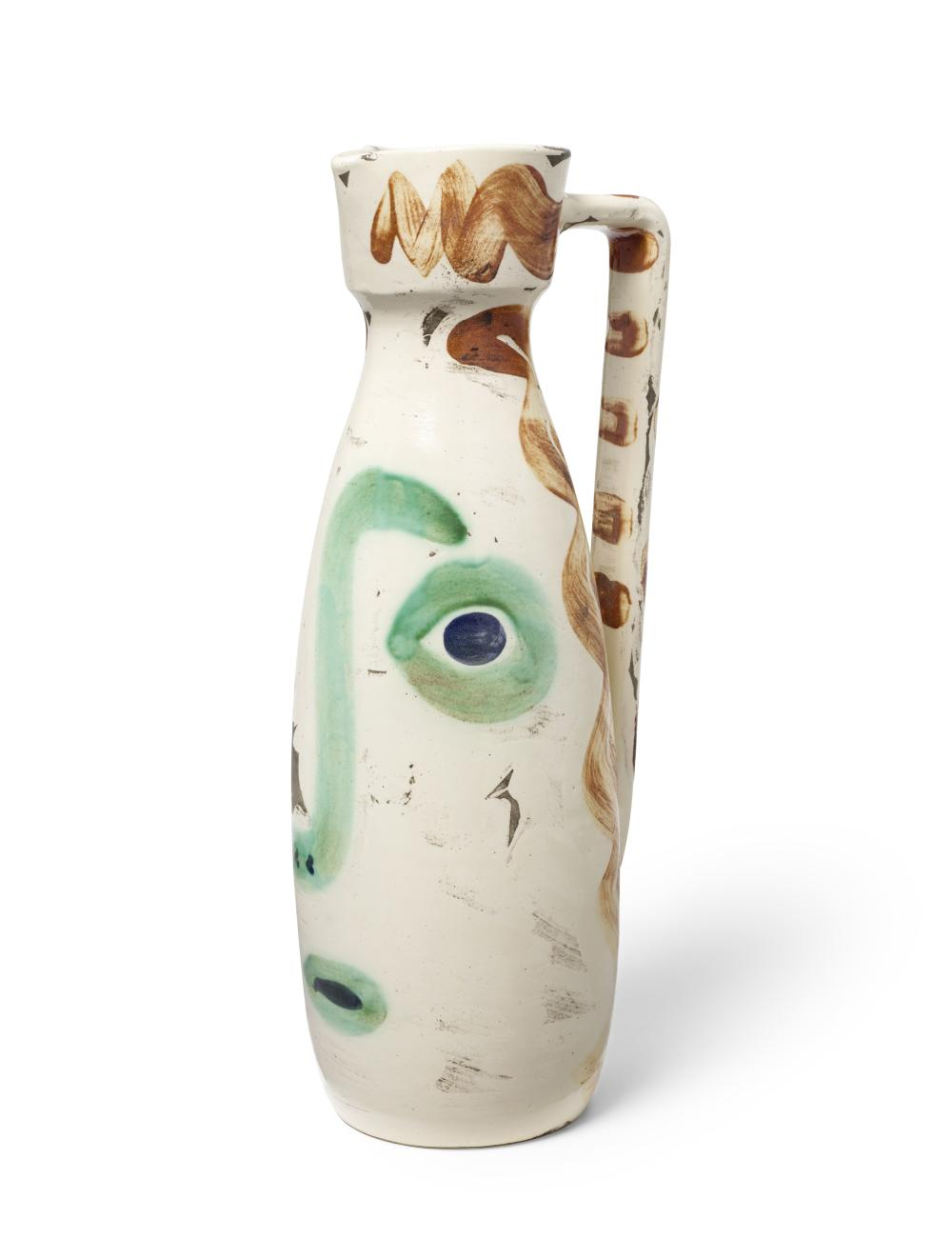 Pablo Picasso (1881-1973); Visage;