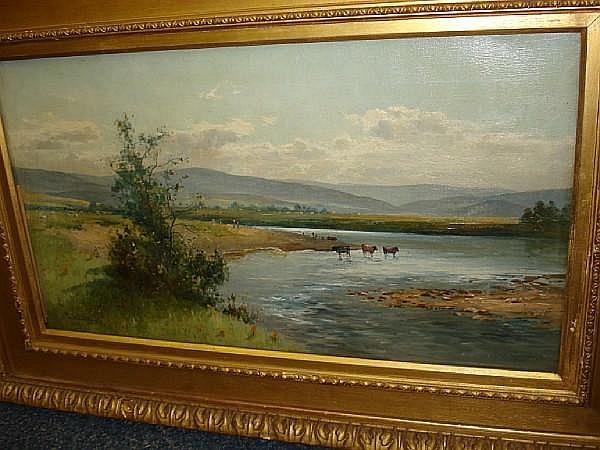 Thomas Bunting (British, 1851-1928) On the Don