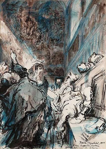 Feliks Topolski Artwork For Sale At Online Auction
