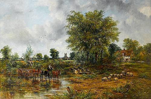 Frederick William 'Waters' Watts (British, 1800-1862)