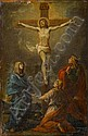 Follower of Charles Le Brun (Paris 1619-1690) The Crucifixion, Charles Le Brun, Click for value