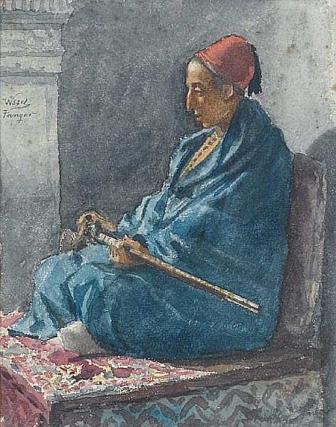 Manuel Wssel De Guimbarda (Cuban, 1833-1907) Guard on duty, Tangiers