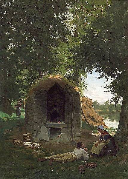 Auguste Louis Georges Loustaunau (French, 1846-1898)
