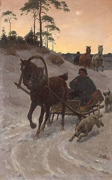 Sigismund Ajdukiewicz (Austrian, 1861-1917)