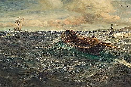 Charles Napier Hemy (British, 1841-1917)