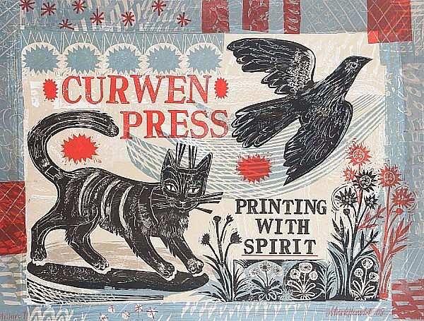 Mark Hearld (British, born 1974) Printing with Spirit Lithograph in colours, 2008, signed, dated, and inscribed 'archive 1' in red crayon, the full sheet printed to the edges, 690 x 930 mm (27 1/4 x 36 1/2 in) (SH) (unframed)