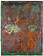 Mick Moon (British, born 1937) After the Rain mixed media with printed elements and collage on board, 1990, Mick Moon, Click for value