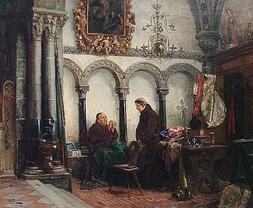 Vincent Stoltenberg Lerche (Norwegian, 1837-1892)