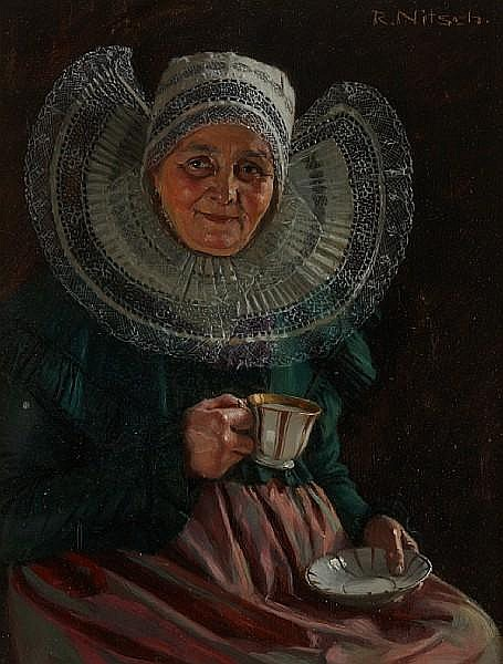 Richard Nitsch (German, born 1866) The Cup that Cheers