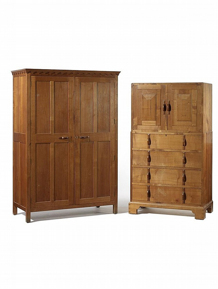 Gordon Russell a Cupboard-on-Chest, circa 1929