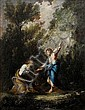 Antonio Francesco Peruzzini (Ancona circa 1668-1724 Milano) Christ handing the keys of Heaven to Saint Peter, Antonio Francesco Peruzzini, Click for value