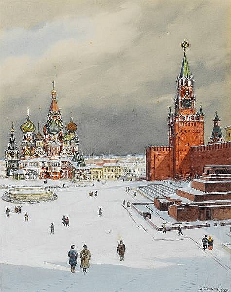 Boris Vasilevich Zvorykin (Russian, 1872-1935)
