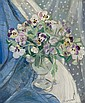 Jacqueline Marval (French, 1866-1932) Still life of flowers, Jacqueline Marval, Click for value
