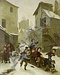 André Henri Dargelas (French, 1828-1903) The bobsleigh, André-Henri Dargelas, Click for value