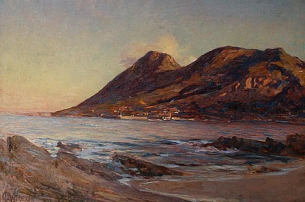 George Crosland Robinson (South African, 1858-1930) Table Mountain