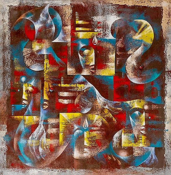 Wisdom (Wiz) Kudowor (Ghanaian, born 1957) 'Muses of inspiration'