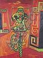Bruce Onobrakpeya (Nigerian, born 1932), Bruce Onobrakpeya, Click for value