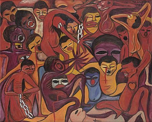 Malangatana Valente Ngwenya (Mozambican, 1936-2011)