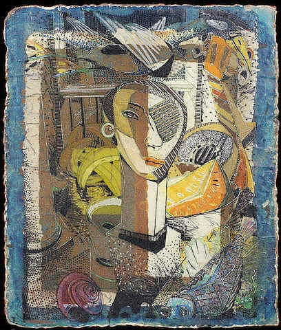 * Robert Bevan Slingsby (South African, born 1955) Abstracted still life