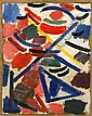 George Claessen (Sri Lanka, 1909-1999) Abstract Tablature, George Claessen, Click for value