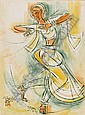 Shiavax Chavda (India, 1914-1990) Bharata Natyam Dancer, Shiavax Dhanjibhoy Chavda, Click for value