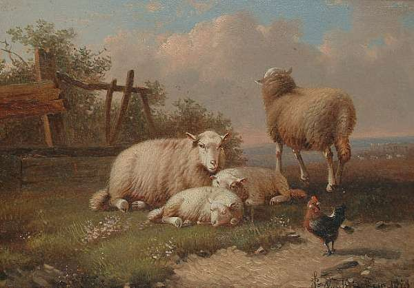 Joseph van Dieghem (Belgian 1843-1885)