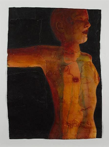 Graham Dean (British, b.1951) 'Red Spot', 2005