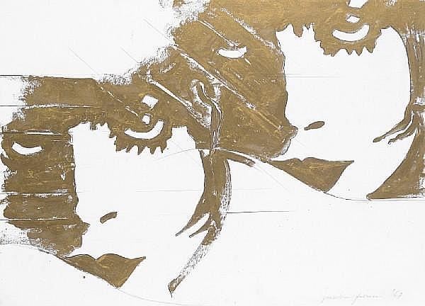 Giosetta Fioroni (Italian, born 1932) 'Liberty', 1967
