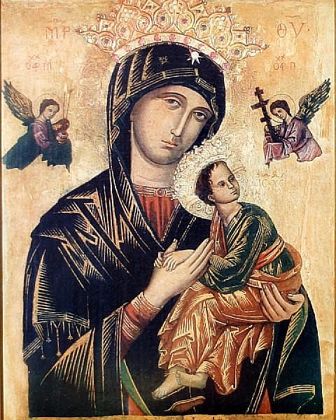 Augusto Stoppoloni (Italian, 1855-1910) The Madonna