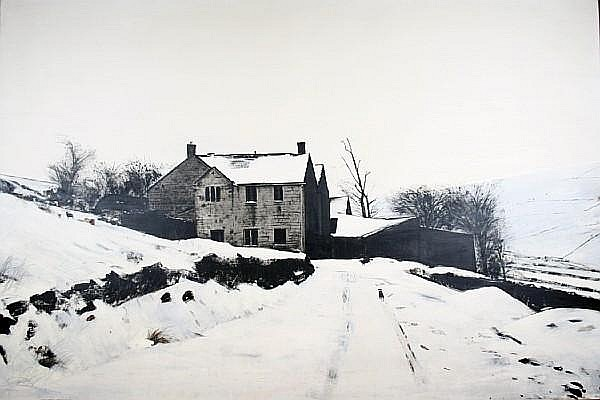 Peter Brook (British, 1927-2009) 'Evacuated Farmhouse, Dene Head Valley'