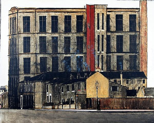 Peter Brook (British, 1927-2009) 'Leaning Etc'