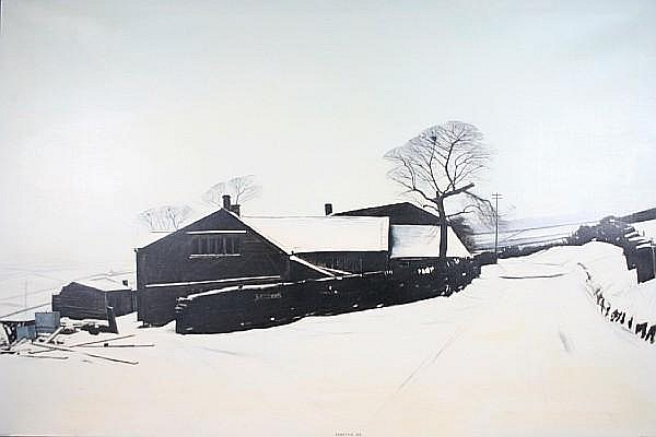 Peter Brook (British, 1927-2009) 'Pennine Christmas Day'