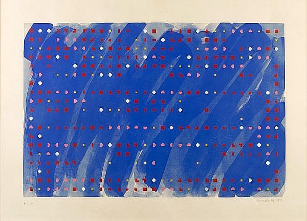 Brian Clarke (British, born 1953) 'Time Lag Zero', 1980