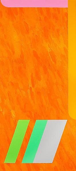 Michael Tyzack (British, 1933-2007) 'Vernon Orange, 1978