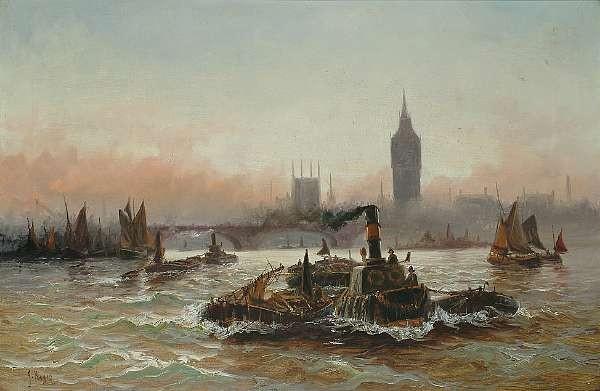 J. ** Hayes (Edwin Fletcher, British, 1857-1945)