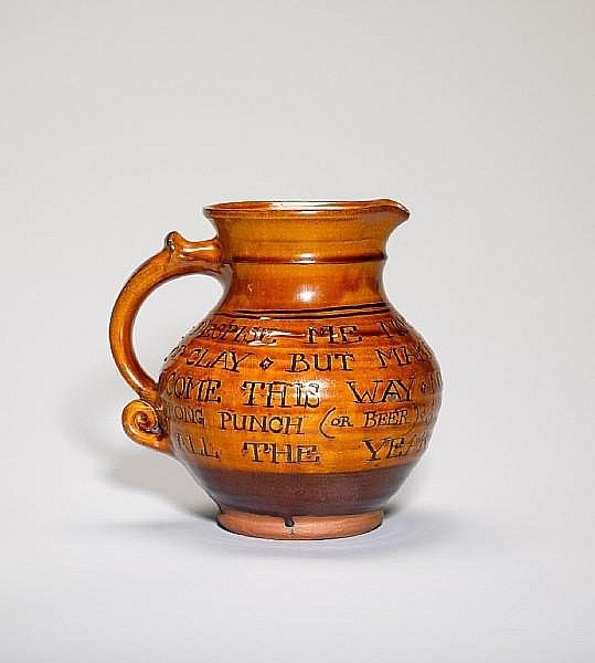 Michael Cardew at the Leach Pottery (British, 1901-1983) 'Harvest Jug', 1925 Height 19.5cm (7 5/8in.)