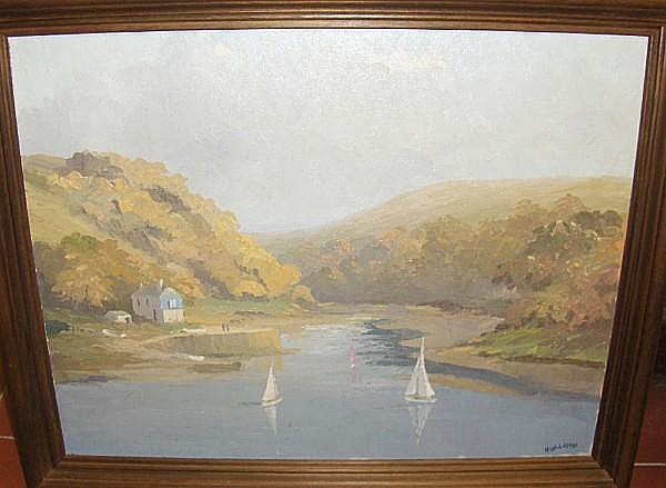 Hugh E. Ridge (British, died 1976) St. Mawes Estuary