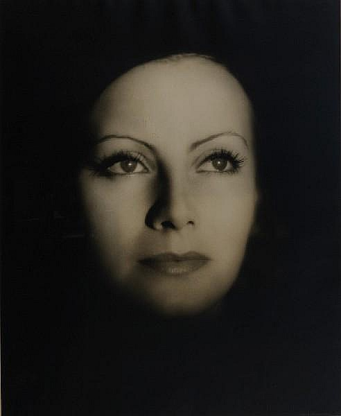 Clarence Sinclair Bull (American, 1895-1979) Greta Garbo for The Kiss, 1927 Paper 50.5 x 40.5cm (19 7/8 x 16in), image 46.8 x 38cm (18 3/8 x 15in).