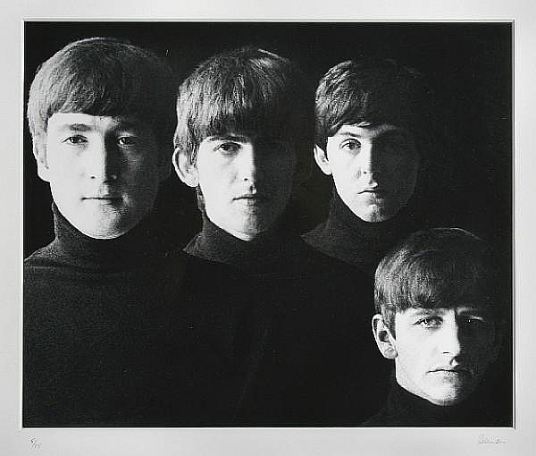 Robert Freeman (British, born 1936) With The Beatles, 1963 Sight area 25.3 x 30.3cm (10 x 12in).