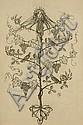 Edmund Joseph Sullivan (British, 1869-1933) Illustration from Omar Khayham signed and dated 1912, Edmund J. Sullivan, Click for value