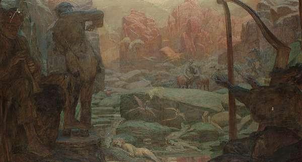 Ferdinand Staeger (German 1880-1977)