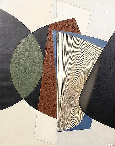 Jean Rets (Belgian, born 1910) 'Aria'
