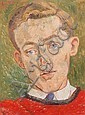 Peter Samuelson (British, 1912-1996) Portrait of Michael Rothwell, the actor, Peter  Samuelson, Click for value