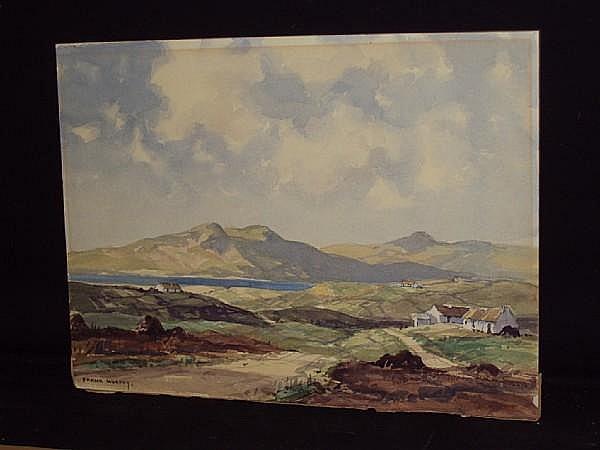 Frank Murphy (Irish, 1925-1979) 'Near Gortahork', Irish country landscape,