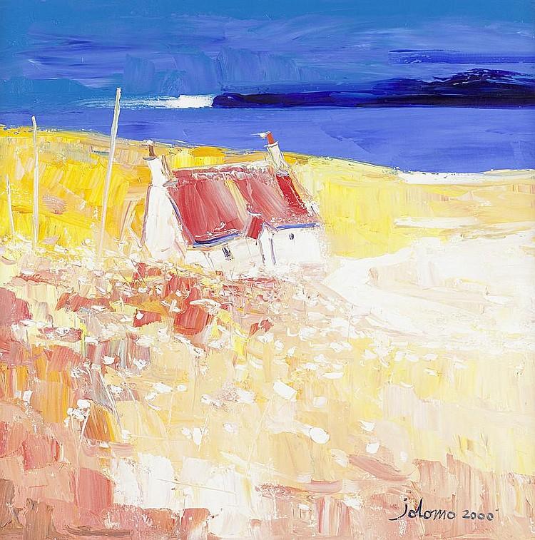John Lowrie Morrison (British, born 1948) Summer Field, Ardtun, Isle of Mull,
