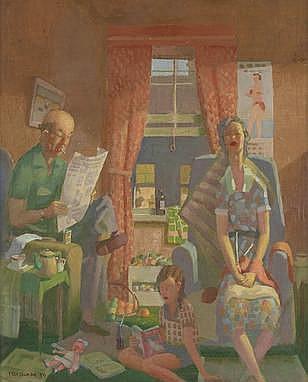Herbert Badham  Domesticity, 1959