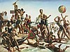 Charles Meere  Australian Beach Pattern, c.1940, Charles Meere, Click for value