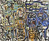 * W Aboudia Abdoulaye Diarrassouba (Ivorian, born 1983) Untitled (2014),  Aboudia, Click for value