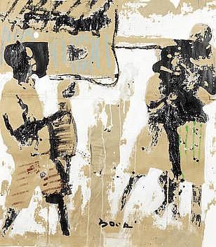 * Armand Boua (Ivorian, born 1978) Untitled (2014)
