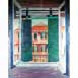 Glynn Boyd Harte (British, b.1948) View from a Tuscan window 131 x 108.5 cm.